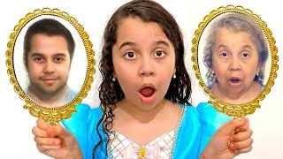 SARAH E OS ESPELHOS MÁGICOS QUE MUDAM O ROSTO | Magical Mirrors Changing Faces