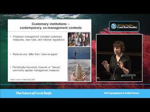 Pip Cohen - Fisheries management in the tropical Pacific from an interdisciplinary perspective