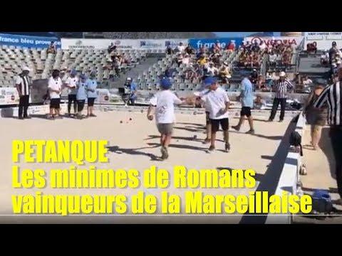 PETANQUE Les minimes de Romans      Mistral TV Drôme Ardèche