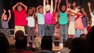 Kali's Kindergarten Performance 2017 - pop se ko