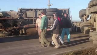 TRAGEDIA EN RUTA 4: un automovilista murió al chocar con un camión