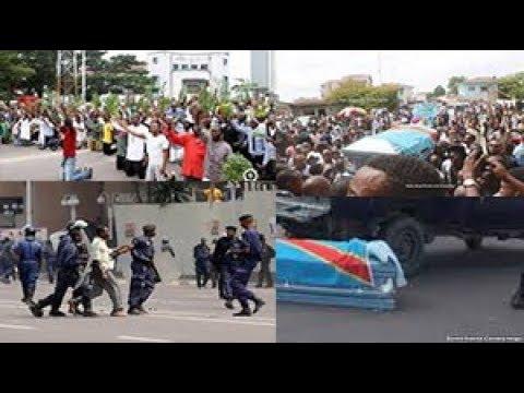 CA BRULE A KINSHASA ENTERREMENT YA ROSSI MASASI EBETI LA POLICE BAZUI CORPS YA ROSSI BILAN 15 MORT
