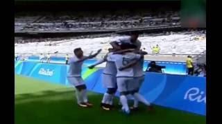 """أهداف مباراة """"الجزائر"""" و البرتغال 1-1 - نهائيات كرة القدم بأولمبياد ريو دي جانيرو 2016"""