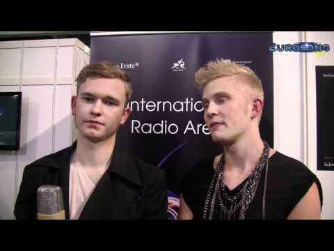 Interview med A Friend In London efter sejren i SF (interview DK after the victory in SF2)