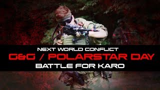 Ballahack Airsoft World Conflicts G&G Polarstar Day The Battle for Karo