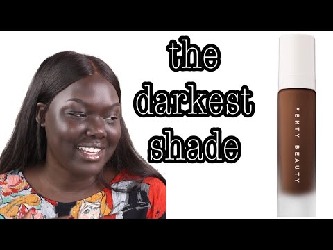 Fenty Beauty Pro Filt'r Foundation Review|| Nyma Tang #thedarkestshade
