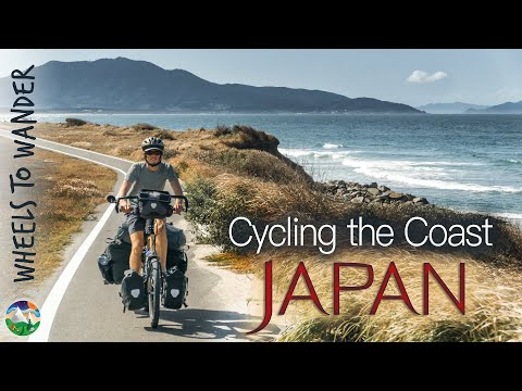 Japan by Bike - Riding Japan's Coast   Cycling the World 45