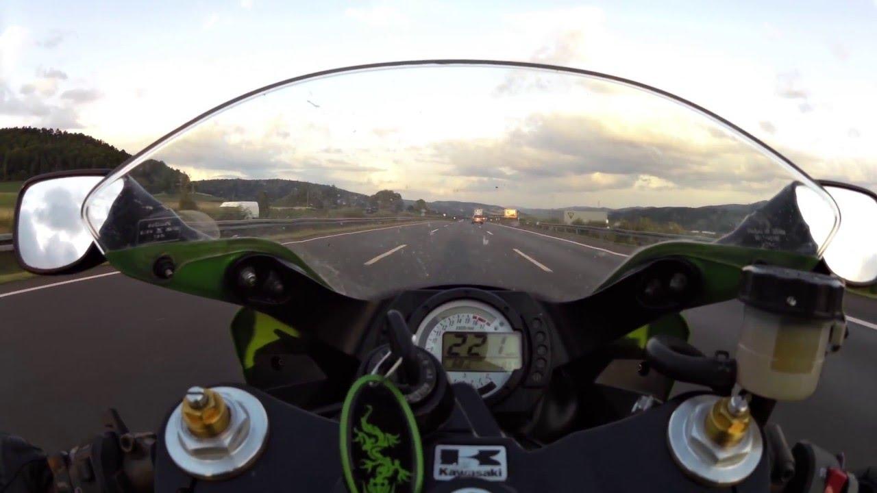 Kawasaki Ninja Zx6r 636b 48ps35kw Topspeed Youtube