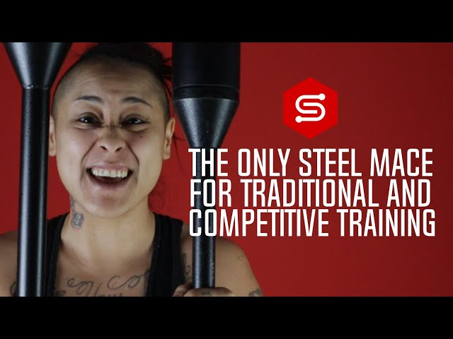 The only Steel Mace you will need for TRADITIONAL STRENGTH TRAINING