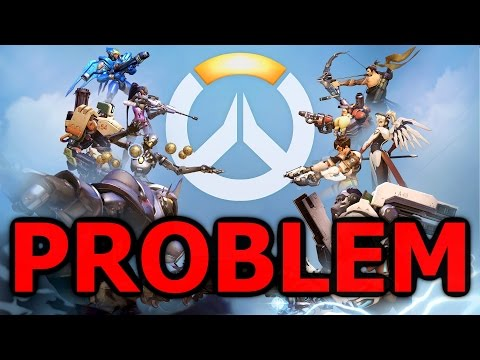 The Problem with Overwatch - Playing Solo is a Disaster (Overwatch Reaper Gameplay)