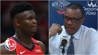 Zion Williamson coming out of the game about long term health - Alvin Gentry | NBA Sound