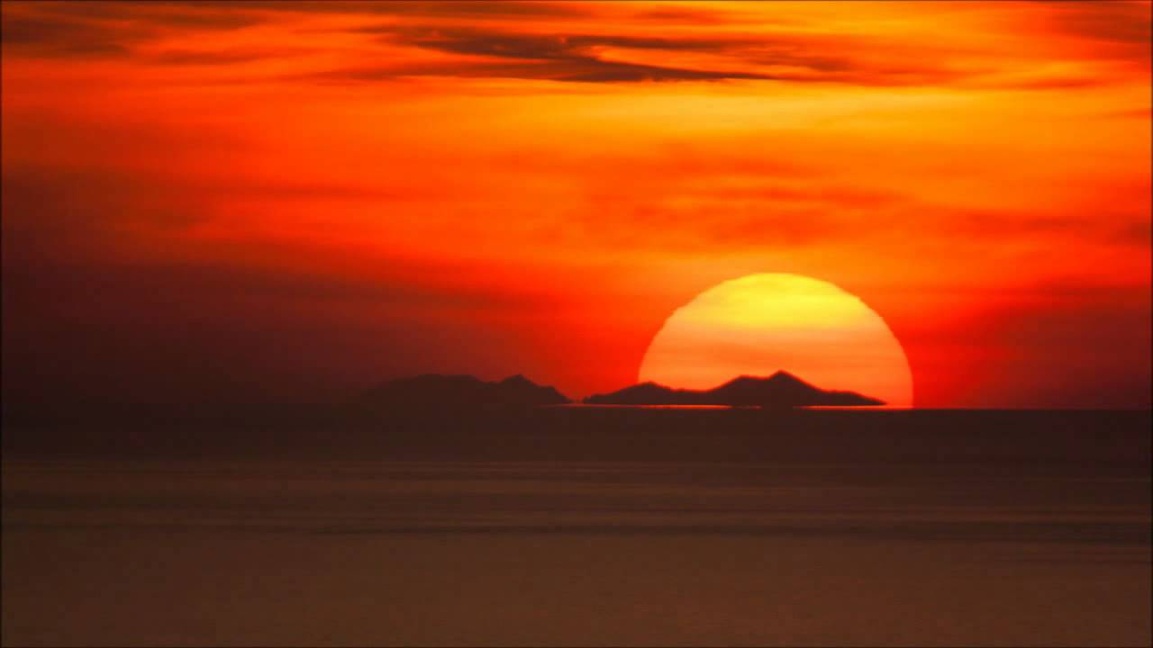 Coucher de soleil sur le massif du canigou observ depuis - Du lever du soleil jusqu a son coucher ...