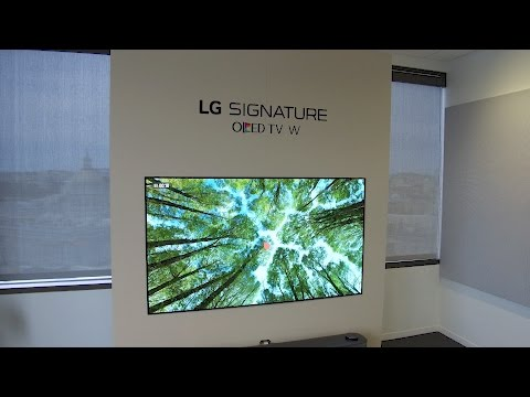 Download Youtube: LG 65-inch W7 Wallpaper 4K UHD OLED TV Review