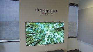 LG 65-inch W7 Wallpaper 4K UHD OLED TV Review