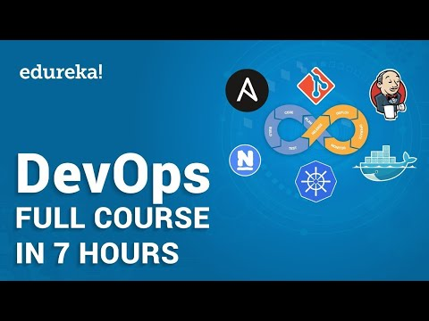 DevOps Tutorial For Beginners | Learn DevOps In 7 Hours - Full Course | DevOps Training | Edureka