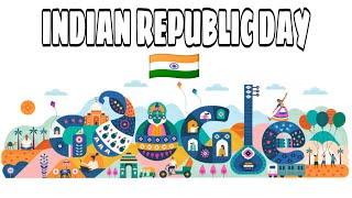 Indian Republic Day Google Doodle