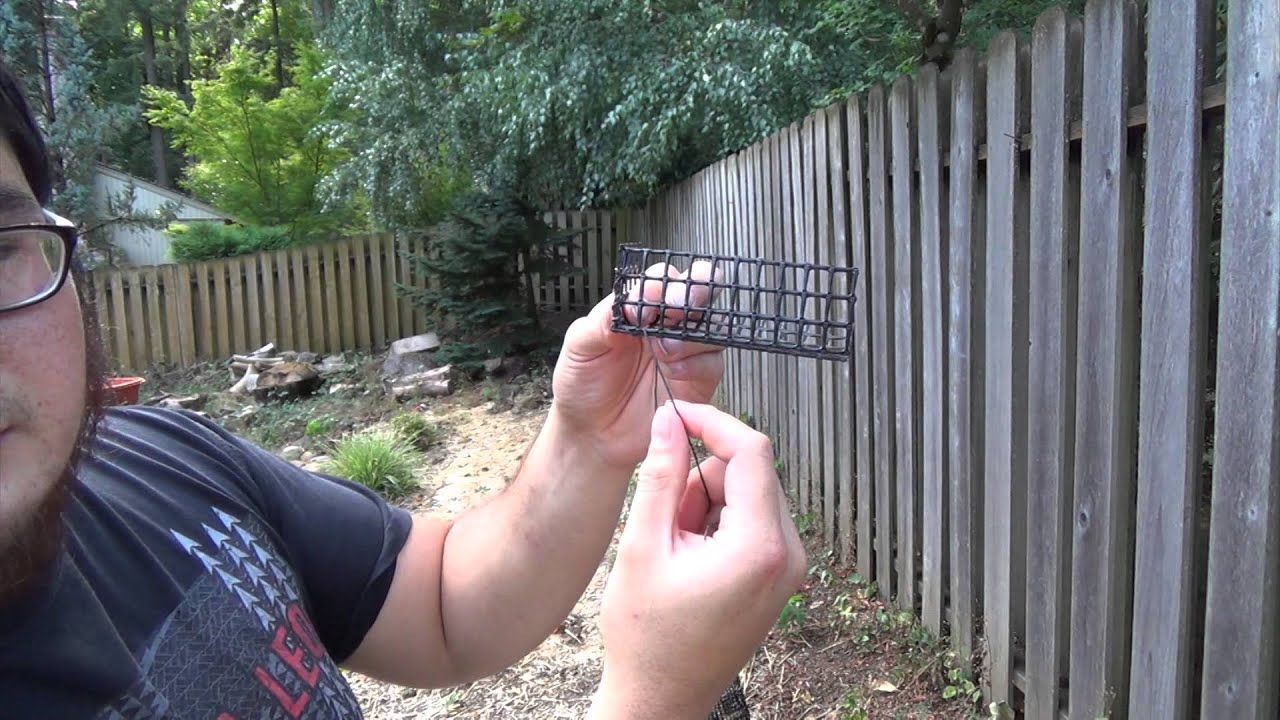How To Build A Crayfish Trap For Under $5  Part 4  Building A Bait Box