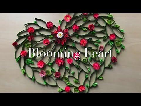 Craft Tutorial, Blooming Heart, With Natalka Barvinok
