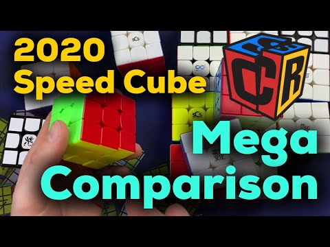 2020 Speed Cube Mega Comparison - MoYu, QiYi, Gan, DaYan, and more!