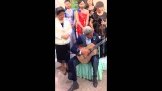Secretary Kerry Plays Musician