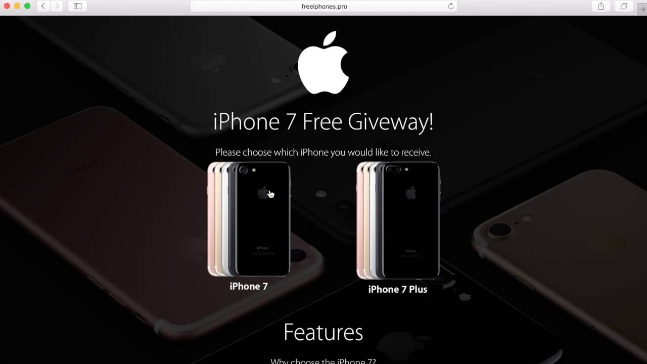 free iphone giveaway legit free iphone 7 and iphone 7 plus 1 legit iphone giveaway 6305