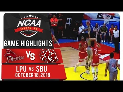 NCAA 94 MB: LPU vs. SBU | Game Highlight | October 18, 2018