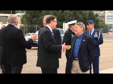 US Secretary of Defense Chuck Hagel arrival