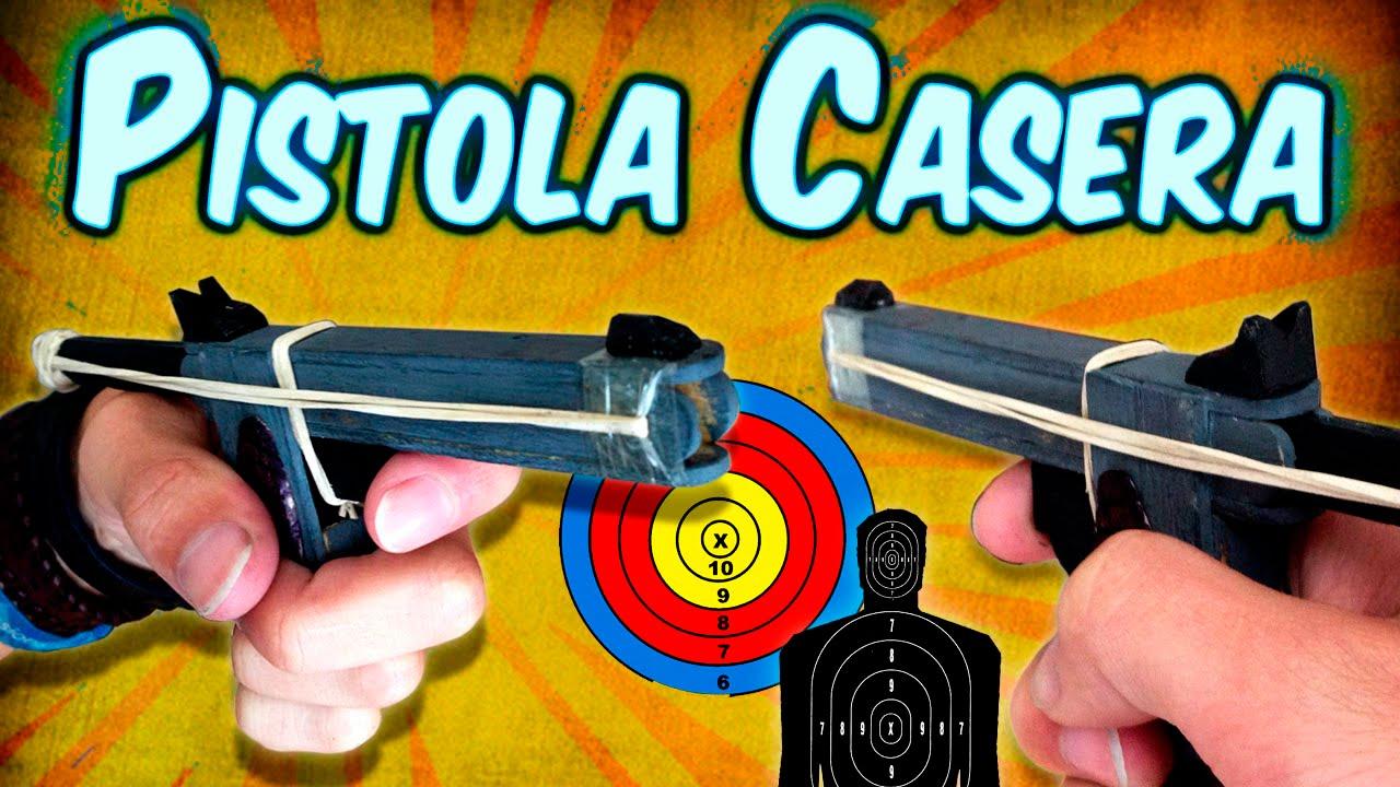 Como hacer una mini pistola casera usando palitos de - Como hacer una shisha casera ...