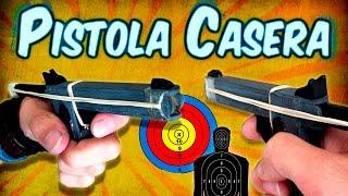 Como Hacer una Mini Pistola Casera Usando Palitos de Helado