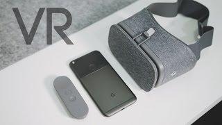 افضل نظارة واقع افتراضي للهاتف | Google Daydream View !