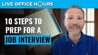 How to Prepare for a Job Interview 10 Steps