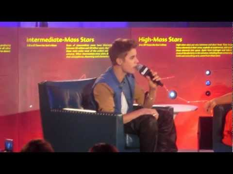 Justin Bieber singing Just Like Them at FUSE