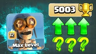 5000 TROPHIES!? - IS IT POSSIBLE!? - Clash Of Clans BUILDERS HALL 6!