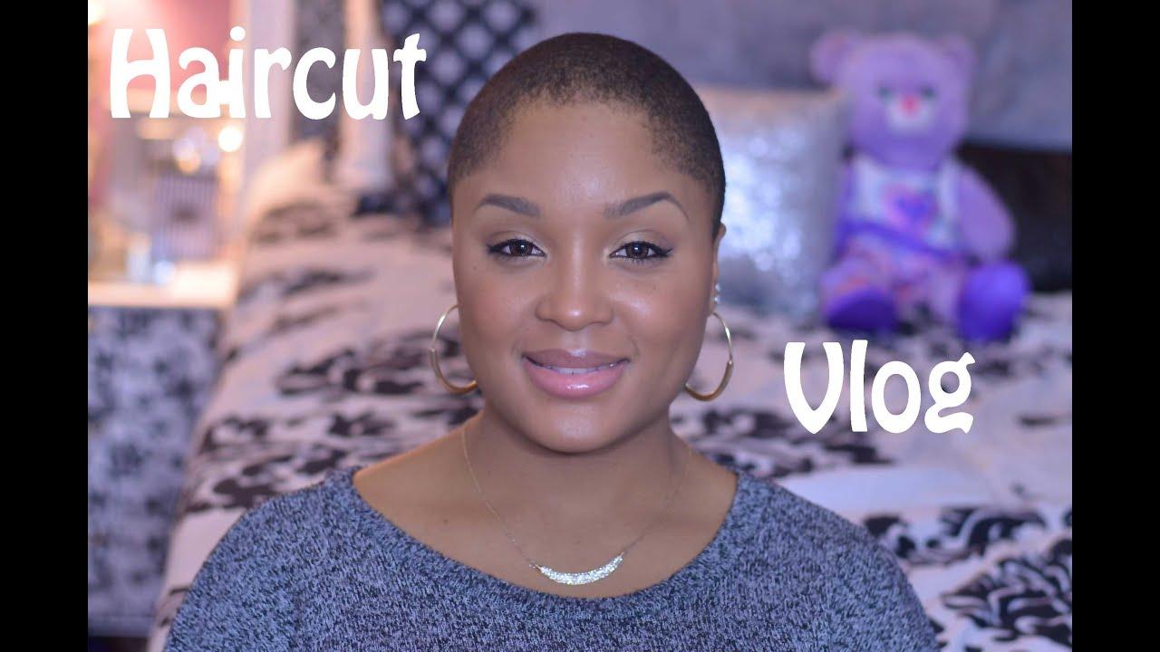 Vlog My Haircut Style Maintenance Womens Caesar Haircut Youtube