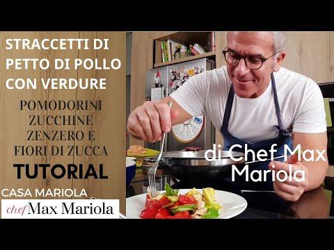 STRACCETTI DI POLLO CON VERDUREdi Casa Mariola - TUTORIAL - la video ricetta di Chef Max Mariola