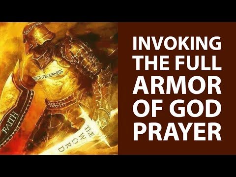 PUT ON THE ARMOR OF GOD PRAYER FOR PROTECTION✅