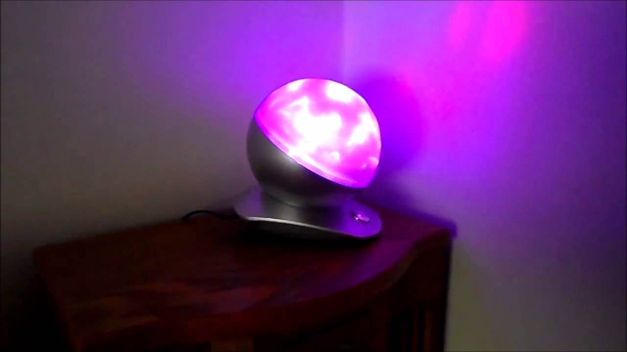 review of laser sphere colour changing lamp mesmerizing nebula effects youtube. Black Bedroom Furniture Sets. Home Design Ideas