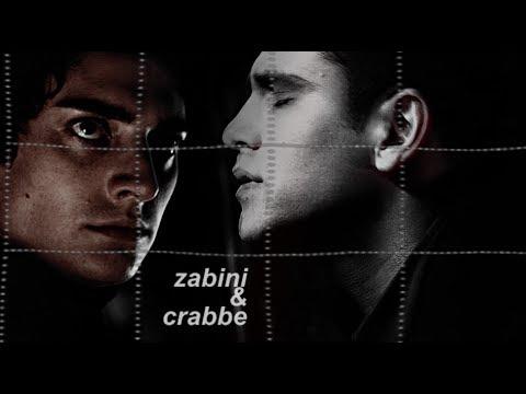 blaise zabini & vincent crabbe