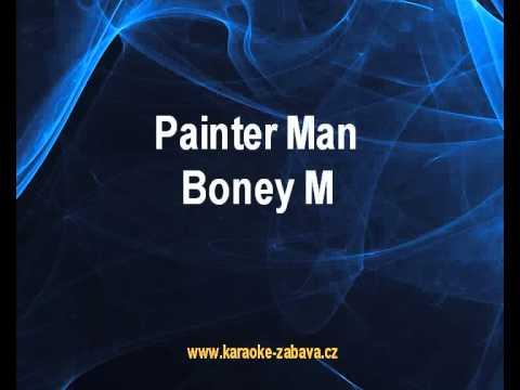 Boney M - Painter Man (karaoke KLIP)