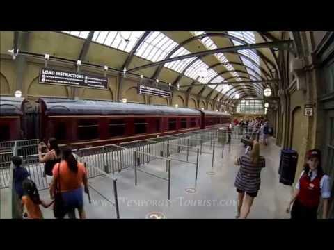 Hogwarts Express Train Ride Full POV from Kings Cross to Hogsmeade at Universal Studios Orlando