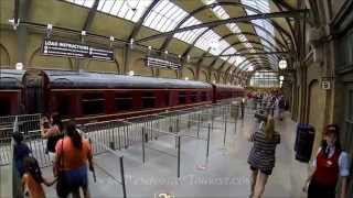 Hogwarts Express Train Ride Full POV from Kings Cross to Hogsmeade at Universal Studios Orlando