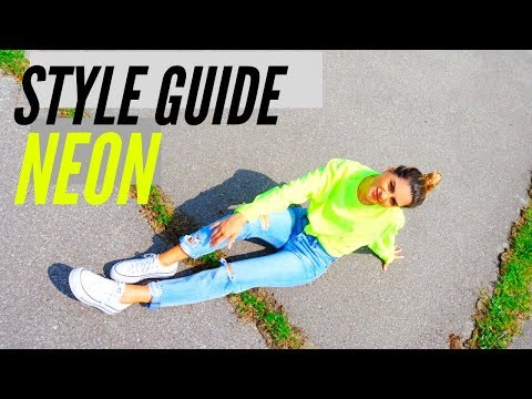 how-to-style-neon-|-affordable-lookbook