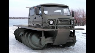 В России возрождается производство снегоболотоходов
