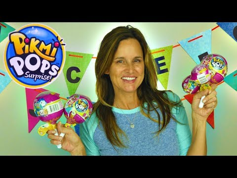 Pikmi Pops Surprise Plush Toys and Shopkins World review | DCTC's Amy Jo opens new surprise toys
