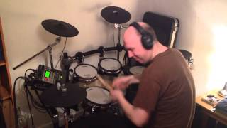 A Flock Of Seagulls - Space Age Love Song (Roland TD-12 Drum Cover)