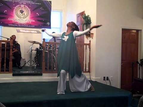 That Name praise dance by Yolanda Adams
