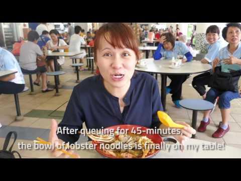 MRT Makan: Lobster Noodles At Yio Chu Kang