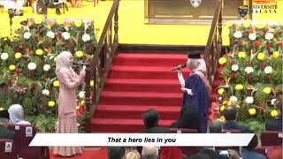 Download lagu SURPRISE PERFORMANCE! HERO - Mariah Carey (Wafa & Aliah)