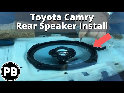 hqdefault 1997 2001 toyota camry rear speaker replacement youtube  at bakdesigns.co