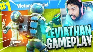 "NEW Fortnite ""LEVIATHAN"" Skin Gameplay.."